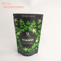 China Sealed Plastic Pouches Packaging Food Grade Aluminum Foil Stand Up Herbal Detox Tea Packing wholesale