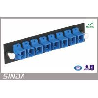 Buy cheap 750N Cabinet mountable Fiber Optic Adapter Panel loaded up to 48 ports from wholesalers