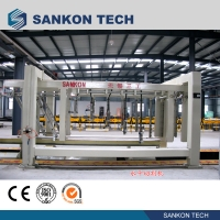 China Horizontal SANKON 12.9kw AAC Block Cutting Machine wholesale