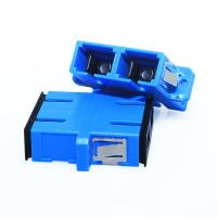 Buy cheap Plastic Duplex Fiber Adapter UPC Polish Type High Core Alignment For FTTH from wholesalers
