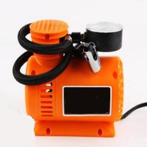 China Orange Auto Air Compressor Portable , 250psi Plastic Air Pump For Car Tires wholesale