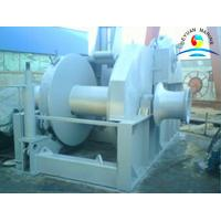 China Towing Boat Ramp Marine Winch With 40 Ton Drum Capacity And Warping End wholesale