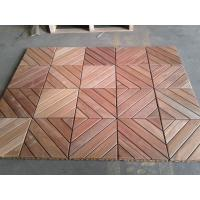 China Cumaru DIY Outdoor flooring wholesale