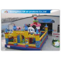 China Cartoon Micky Mouse Bounce House / Inflatable Kids Playground Minnie Park UL Certificate on sale