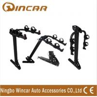 China Steel Hitch Rear Car Bike Racks For 2 Bikes , Easy - Transporting Bike Rack Car wholesale
