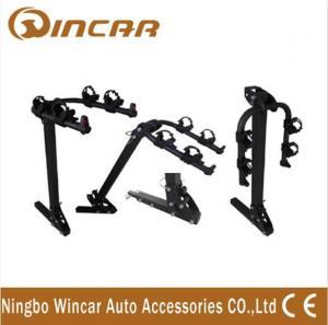 China Steel Hitch Rear Car Bike Racks For 2 Bikes , Easy - Transporting Bike Rack Car wholesale