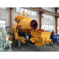 China Full Diesel Power Concrete Mixer with Pump Concrete Mixing Pump on Sale with World Brand Engine Lovol 1004 wholesale