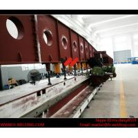 China Automated Metal Sheet Plate Edge Milling / Beveling Machine High Precision wholesale