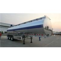 China Aluminum Alloy Tanker Heavy Duty Semi Trailers 20 Tons With 3 BPW Axles 12 Wheels wholesale