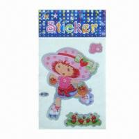 Buy cheap Characters laser stickers/adhesive stickers, various designs and sizes are from wholesalers