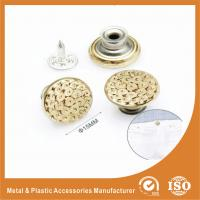 China Gold Custom Metal Buttons For Jeans decorative buttons for clothing wholesale