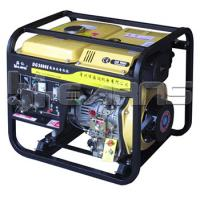 China Air-cooled open diesel generator 3KW electric start with battery, single phase wholesale