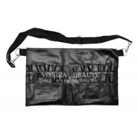 China 20 Pockets Makeup Artist Brush Bag Cosmetic Products PVC Apron With Belt Strap wholesale