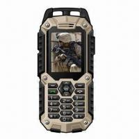 China IP67 Waterproof Mobile Phone with Dual-SIM Card and GPS Navigation wholesale