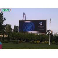 China outdoor full color p6,p8,p10 standard waterproof cabinet led dsiplay screen wholesale