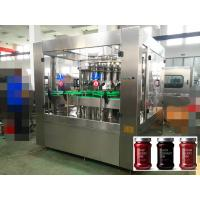 China High Viscosity Ketchup / Honey / Jam / Automatic Liquid Filling Machine Piston Filling 6000 bottles per hour wholesale