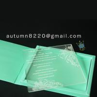 China wonderful pakistan wedding invitations wholesale