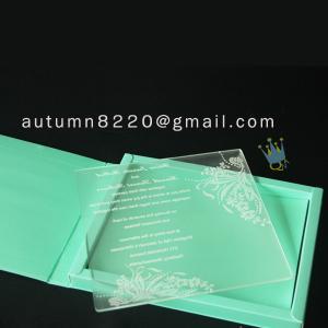 China wonderful pakistan wedding invitations wholesale