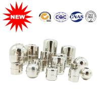 China Custom Made Small Ball Valve Float , Metal Float Ball With Ferrite Magnet on sale
