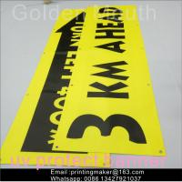 China Uv Printing Outdoor Polyester Vinyl Advertising Banners For Business wholesale