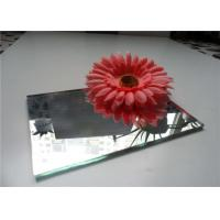 China Professional Plain Mirror Glass 3mm 4mm 5mm 6mm Thickness With Beveled Edge wholesale