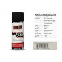 China AEROPAK acrylic Spray Paint for car 400ml cream white with SGS certificate wholesale