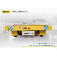 China 20 ton rail electric transfer flat carts for material handling wholesale