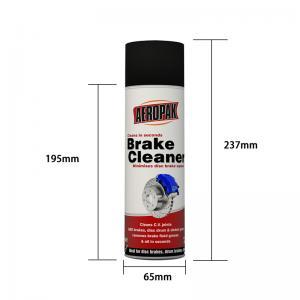 China OEM UN1950 DME Gas Aeropak 500ML Brake Cleaner Spray wholesale