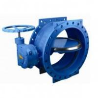 China 125 lbs / 200psi Double Eccentric / flange Butterfly Valve with HandWheel,ASME,DIN,JIS on sale