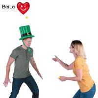 China Customized party inflatable hat toss game with balls wholesale