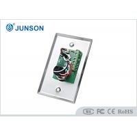 China Two Colored LED Indication Door Release Button With Stainless Steel Plate wholesale