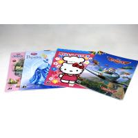 China 4/4C Fancy Paper Saddle Stitch Book Binding , Full Color Offset Printing wholesale