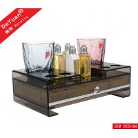 China Luxury Stars Hotel Amenities Acrylic Display Stands / Plastic Tray wholesale