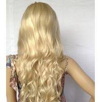 China Long Straight Wigs Gold Scroll Wigs Kinky Curl Wig Hair for Female wholesale