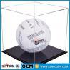 Buy cheap acrylic football boot display case, clear acrylic baseball hat display case, from wholesalers
