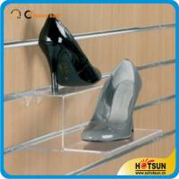 China High quality custom manufacture acrylic shoes rack,Popular transparent acrylic shoe display stand rack wholesale