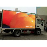 China 1R1G1B Mobile Truck Led Display , Advertisement Led Trailer Sign Linsn / Nova Control wholesale