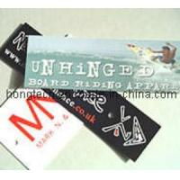 China Printed Fabric Labels wholesale