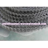 "Buy cheap Crimped Stainless Steel Knitted Mesh Width 30"" / 42 Inch Wear - Resistance from wholesalers"