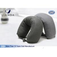 Buy cheap Gray Microbeads Car Neck Rest Pillow With Lycra Cover , 100% Polyester Materials from wholesalers