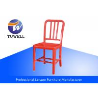 China Outdoor Aluminum Modern EMECO Navy Side Chair With Powder Coating wholesale