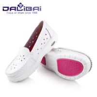China Breathable medical work shoes professional nursing shoes with Hole TPR EVA Outsole wholesale