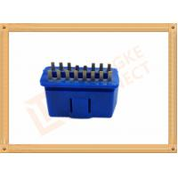 China PVC BLUE OBDII 16 Pin Male OBD Diagnostic Connector CK-SOM002B wholesale
