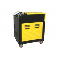 China Air Cooling 100W Fiber Laser Cleaning Machine For Rust Removal wholesale