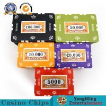 China 760 PCS Custom Printed Clay Plastic Poker Chips Gift Set In Silver Aluminium Case wholesale