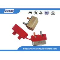 China Automatic Bimetal Temperature Switch , Thermal Circuit Breaker Hand Reset Button wholesale