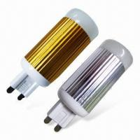 China G9 LED Lamps with 2W SMD Module, Clear/Milky/Frost Finish, Silver/Gold Plating, CE Certified wholesale