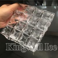 China Kingwell Food & Beverage Factory Applicable Industries 1 ton Ice Cube Maker on sale