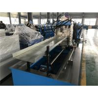 China Whole Plate Welding Frame Top Hat Roll Forming Machine With Mitsubishi Touch screen wholesale