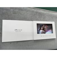 China High impact promotional greeting cards 7inch screen with video personal invitation cards lcd video player cards wholesale